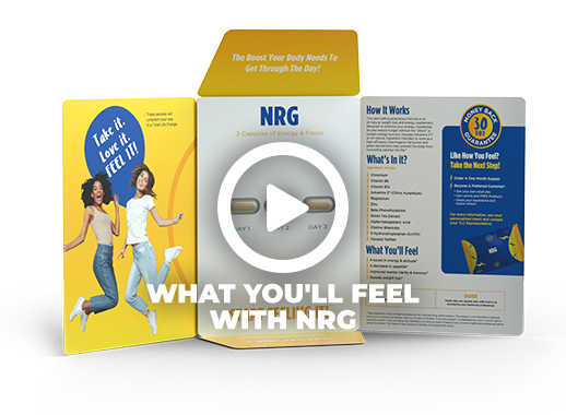 What You'll Feel With NRG